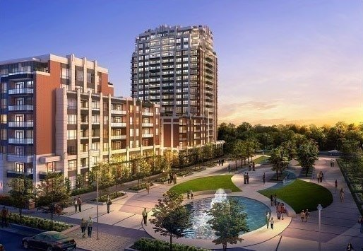 * Riverwalk Condo * Bright & Spacious 1+1 Condo W/ Locker And Parking! * Walk-Out To Patio * Conveniently Located In Uptown Markham! * 24-Hour Concierge, Indoor Pool, Gym, Multi-Purpose Room And Media Room * Unit Is Complete With High-End Finishes Throughout! Close To All Amenities - Shopping, Grocery, Restaurants, Schools, Parks, Highway And Lots More!