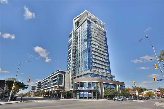 One Of A Kind Luxury Suite In Port Credit's North Shore Condo.  Rarely Offered This Beautifully Upgraded Suite Boasts A Designer Kitchen With All Stainless Appliances, Granite Counters, Water Filtration System Thought-Out, Pot Lights, Hardwood Flooring In Main Living Areas, A Sep Den/Guest Bedroom, Two Large Walk- In Closets, 69 Sq Ft Open Balcony, A Locker And Parking Spot.  Close To Shopping , Port Credit Go,  Marina, Dining, Private & Public Schools