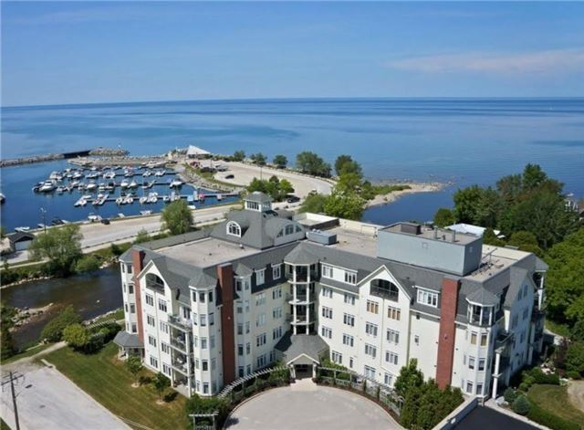 Million Dollar Waterview Of The Beaver River. Thornbury Harbour And Georgian Bay From This Well Maintained Bright Condo. Covered Private Balcony Overlooking Waterfront With Access From Living Rm And Master Bdrm. Master Bdrm With Ensuite And Jet Tub! Beautiful Oak Floors Throughout Main Living & Electric Fireplace To Warm Up After A Day Of Skiing. Huge Windows To Take In A Gorgeous View And Sunsets! Strolls To The Harbour To Restaurants & Downtown Thornbury.