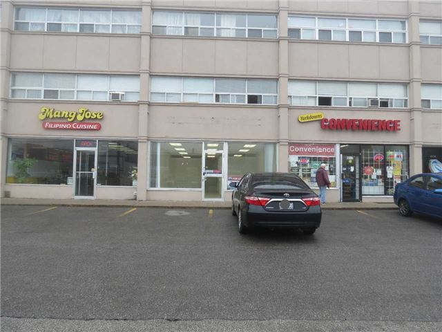 Prime Bathurst St Location Between Sheppard Ave And Wilson Ave. Great Opportunity To Be In A Location That Has Ample Customer Parking, Exposure To A Very Busy Street, And A Vibrant Community To Support Your Business. Service Or Retail Establishments. Relocating Or Opening A New Business This Location Has Great Potential!