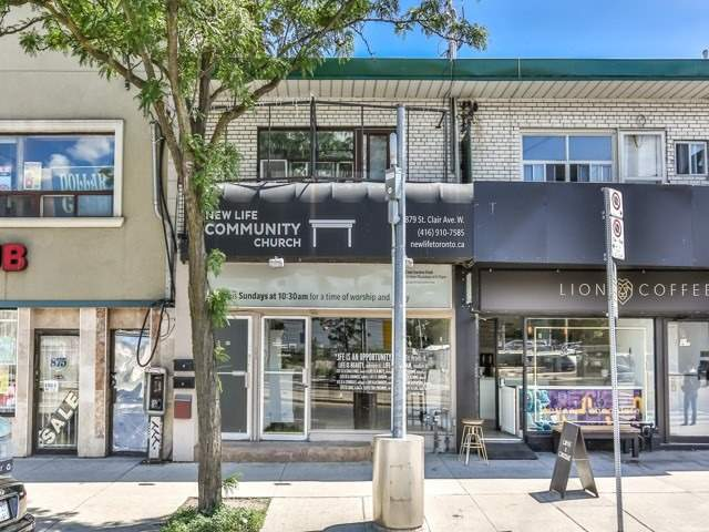 A Truly Wonderful Opportunity To Establish Your Business In One Of The Most Sought After Locations In This Thriving Area. This Is Your Chance To Showcase Your Talent And Vision In The Heart Of The Wychwood/Humewood Strip. Directly Located On St. Clair Avenue And Steps From Major New Residential Developments. High Foot Traffic And Exceptional Visibility. Ttc At Door Step. Extra High And Well Finished Lower Level. Previously Used As A 2 Level Restaurant.