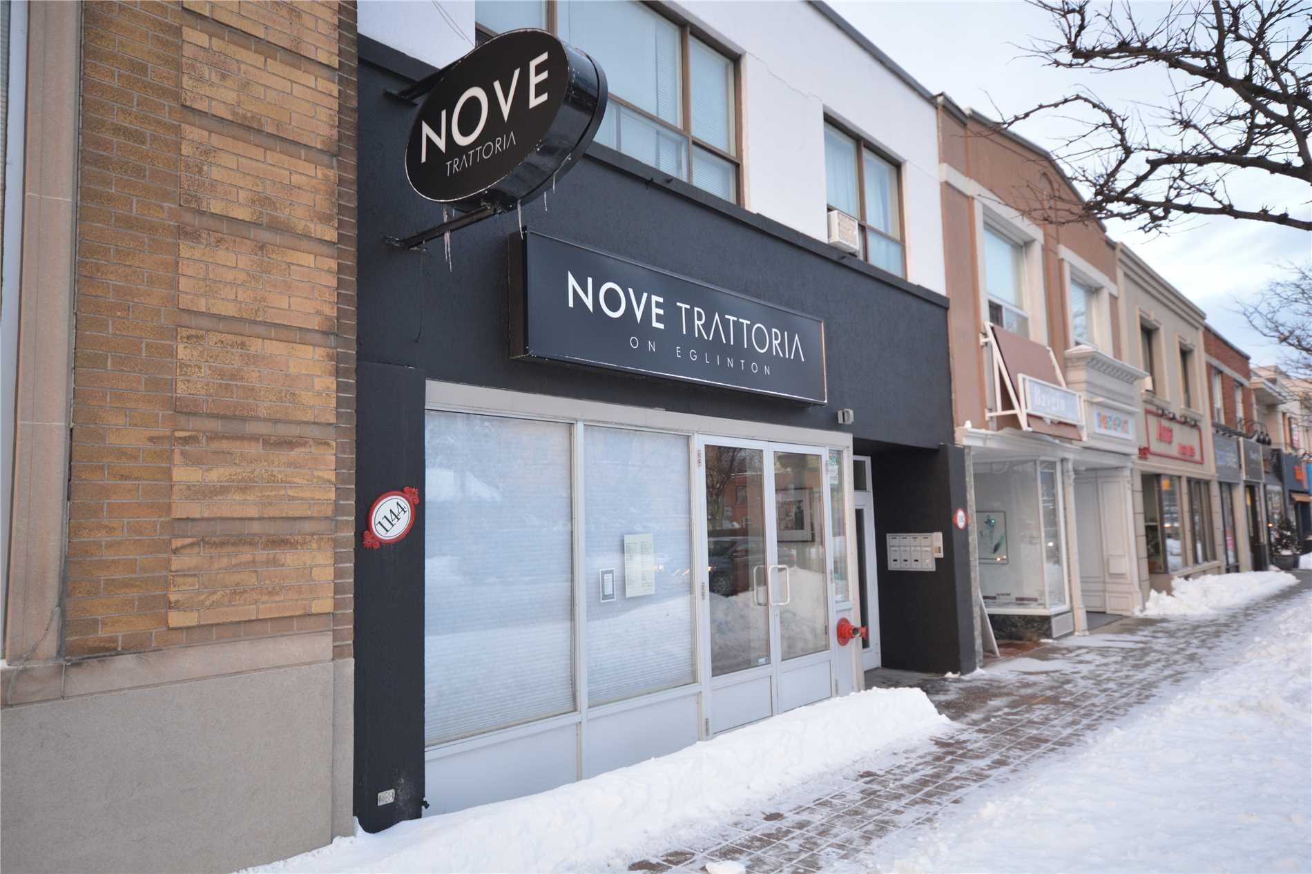 Unbelievable Opportunity-Thriving Turn Key Business In The Trendy North Forest Hill Area. Established Restaurant Since 1981 Serving Italian Cuisine With A Liquor Licence For 103. Amazing Exposure On Eglinton Ave West. Great Net Rent Plus Tmi, Utilities And Water. Please Do Not Go Direct And Do Not Speak To Employees.