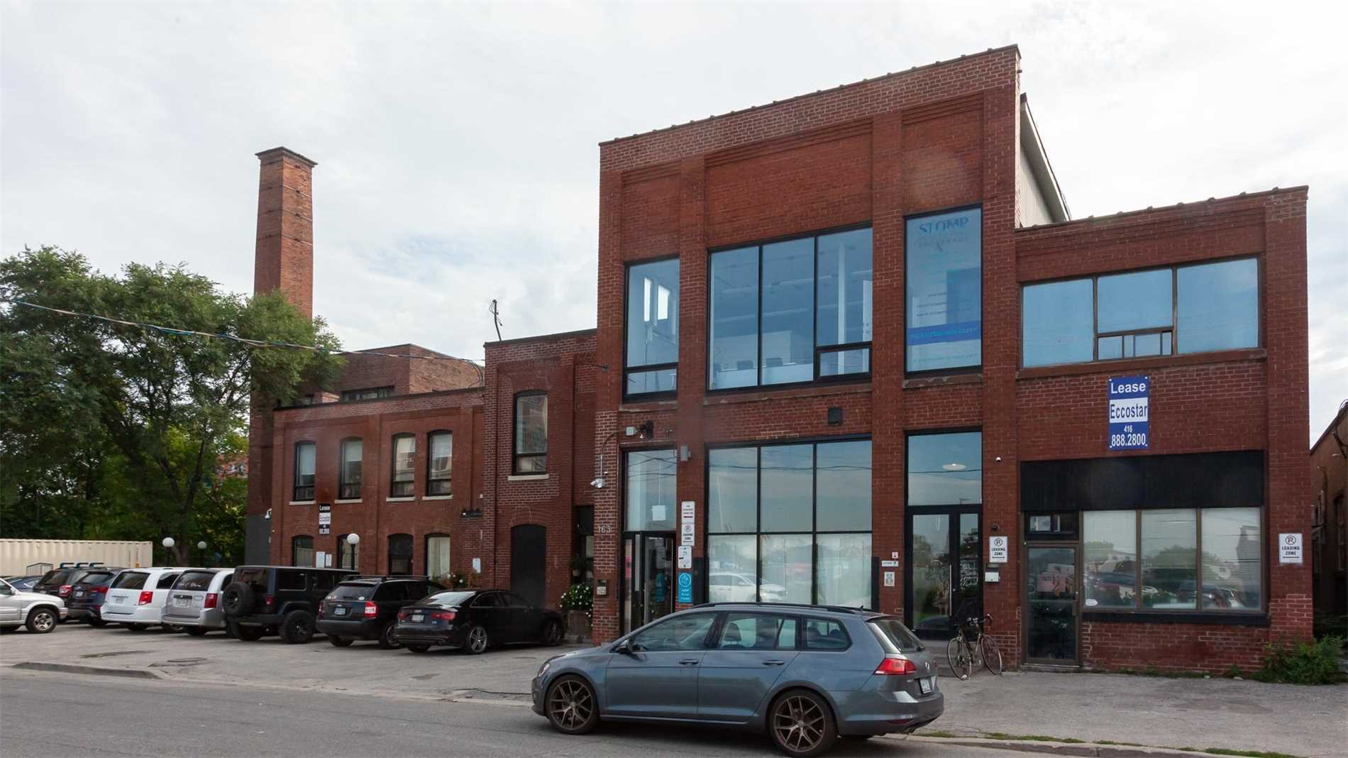 Brick And Beam Office Space For Lease. Mostly Open Space With A Kitchenette.