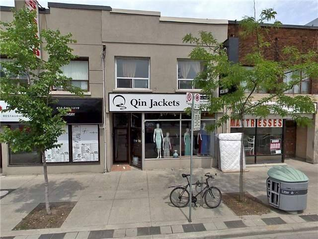 Location, Location, Location!!! Fantastic Exposure To St.Clair Ave W, Next To Ttc, Surrounded By Numerous Residential Properties, Heavy Foot Traffic. Excellent. Space For Any Retail, Professionals Offices, Spa Etc. 2nd Floor Also Available If Extra Space Needed