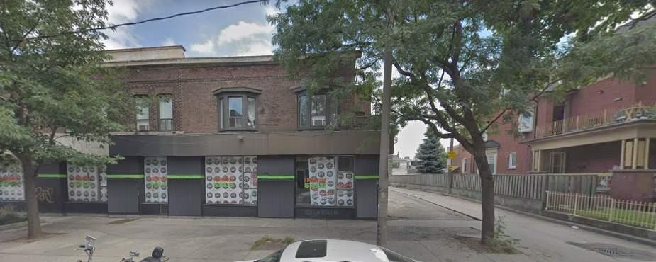 Great Location Just Steps Away From Bloor & Lansdowne This Rear Unit Space In This Flagship Corner Building Is Suitable For Retail, Office Or Restaurant. Dispensaries Welcome. Imagine The Possibilities! High-Density Population Area. High Ceiling And Full Basement.