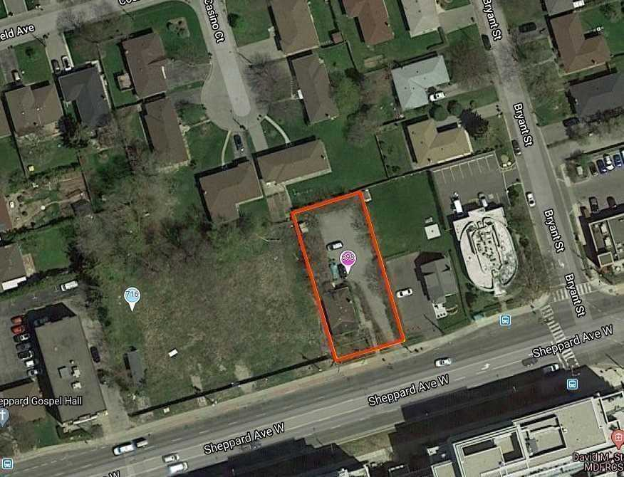 Incredible Opportunity To Purchase A Development Site In Uptown Neighbourhood. 9-Storey Condo, Purpose-Built Rental, Office Or Medical Freestanding Building. Buy Adjacent Property For 141 Feet Total Of Frontage. Currently Used As Veterinary Clinic. 2 - 10,806 Sqft Lots Combined For 0.48 Ac. Extra Depth Allows For More Height. One Of The Last Remaining Lots To Build On In The Area. Generate Income Or Build To Suit. Price Includes #698 Lot Only.