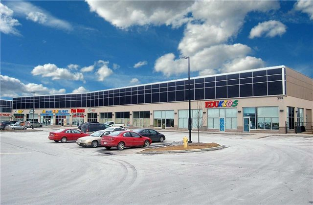 High Profile Retail Space For Lease In Contemporary/Modern Plaza. Perfect For Food / Personal Service Uses. Conveniently Located Seconds South Of Hwy 401 At Salem Road Interchange. High Traffic Area. Ample Parking. Plaza Anchored By Tim Horton's & Petro Canada.