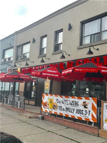 Remarks Bar & Grill Restaurant. Upscale Area. Prime Toronto Location. Starbucks Close By. Great Opportunity To Get Into Your Own Established Business. Large Outdoor Patio To Entertain. Great Balance Of Food Vs. Liquor. Be Your Own Boss. Ideal Family Business. Lease Holds/Equip Estimated Value Approximate 400K + Llbo 300 Seats.