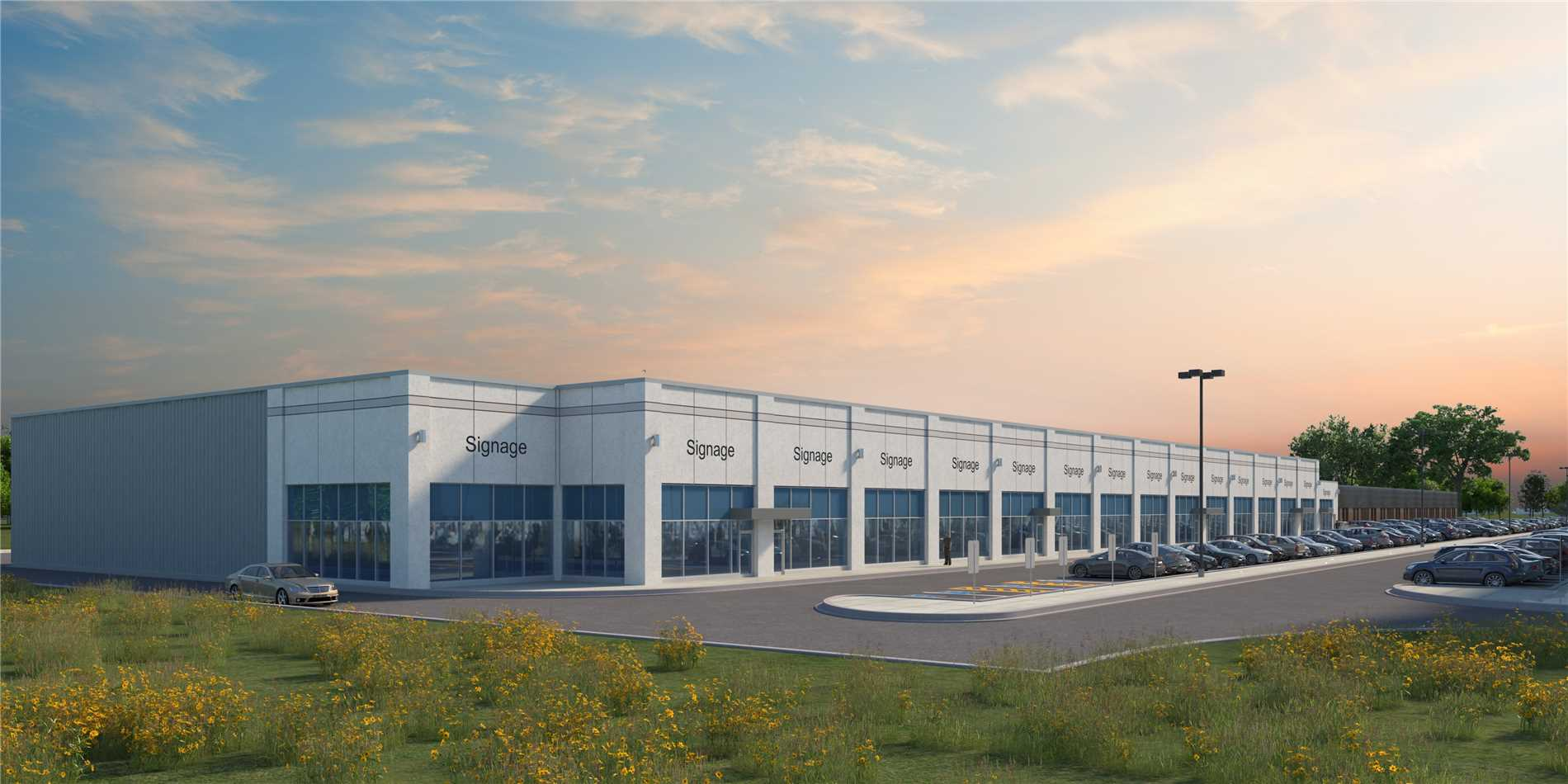 New Expansion On Existing Multi-Tenanted Industrial Building - Ready For Occupancy Q4 2019 - Located Just Minutes From Highway 401/412 - Ideal For Warehousing Or Light Manufacturing Uses - Modern Architectural & Precast Construction - Various Size Configurations Up To 58,336 Sq. Ft. - Office Area Built To Suit - Efficient Loading Capabilities - Ample Parking - 24' Clear