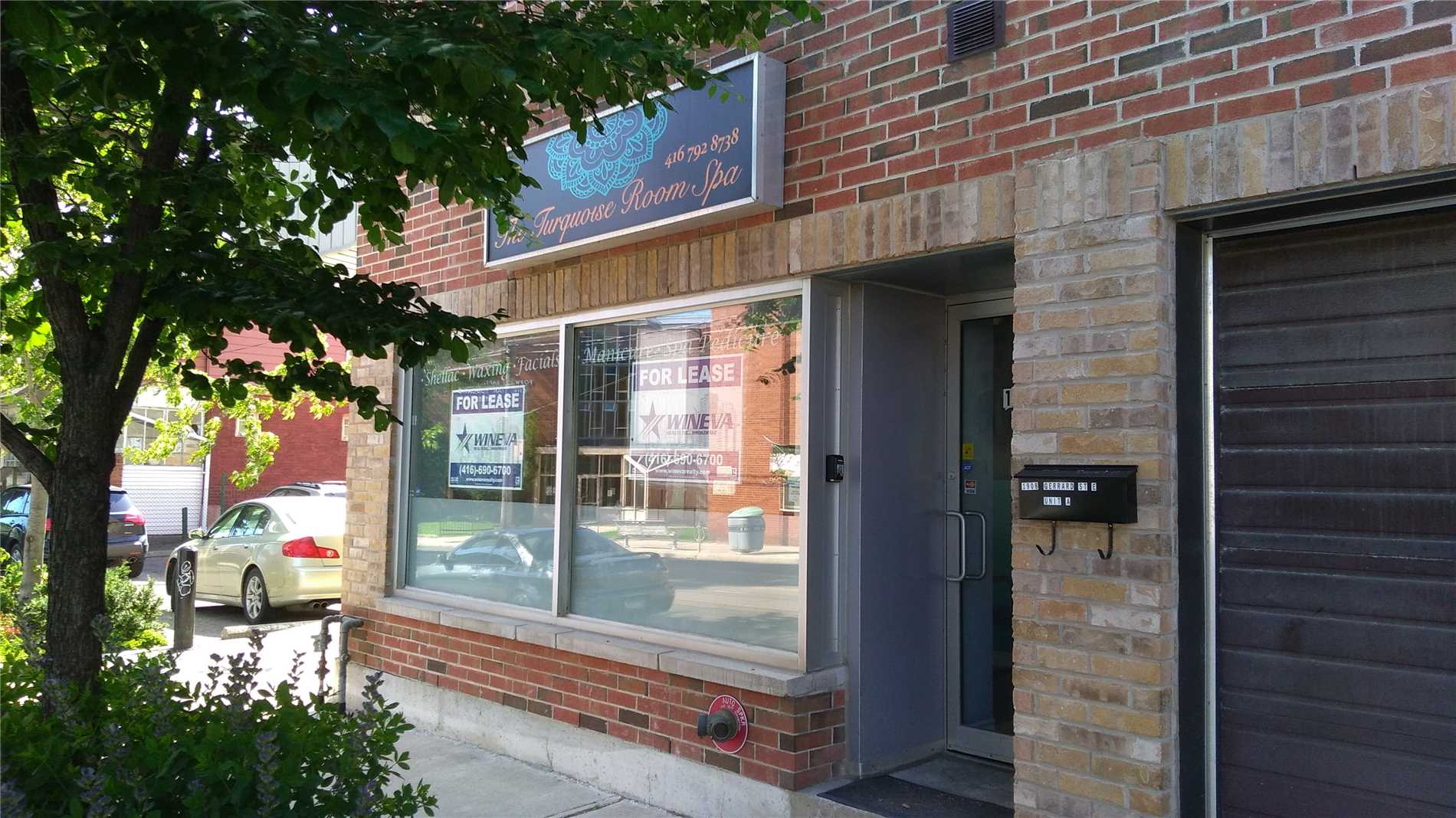 Prime Upper Beach Nail Salon / Spa For Lease At Busy Woodbine/Gerrard Intersection. Turn Key Operation. Includes All Existing Chattels And Fixtures. Lots Of Walk-By And Drive-By Traffic. Perfect For Any Business. Brand New Building From A To Z.