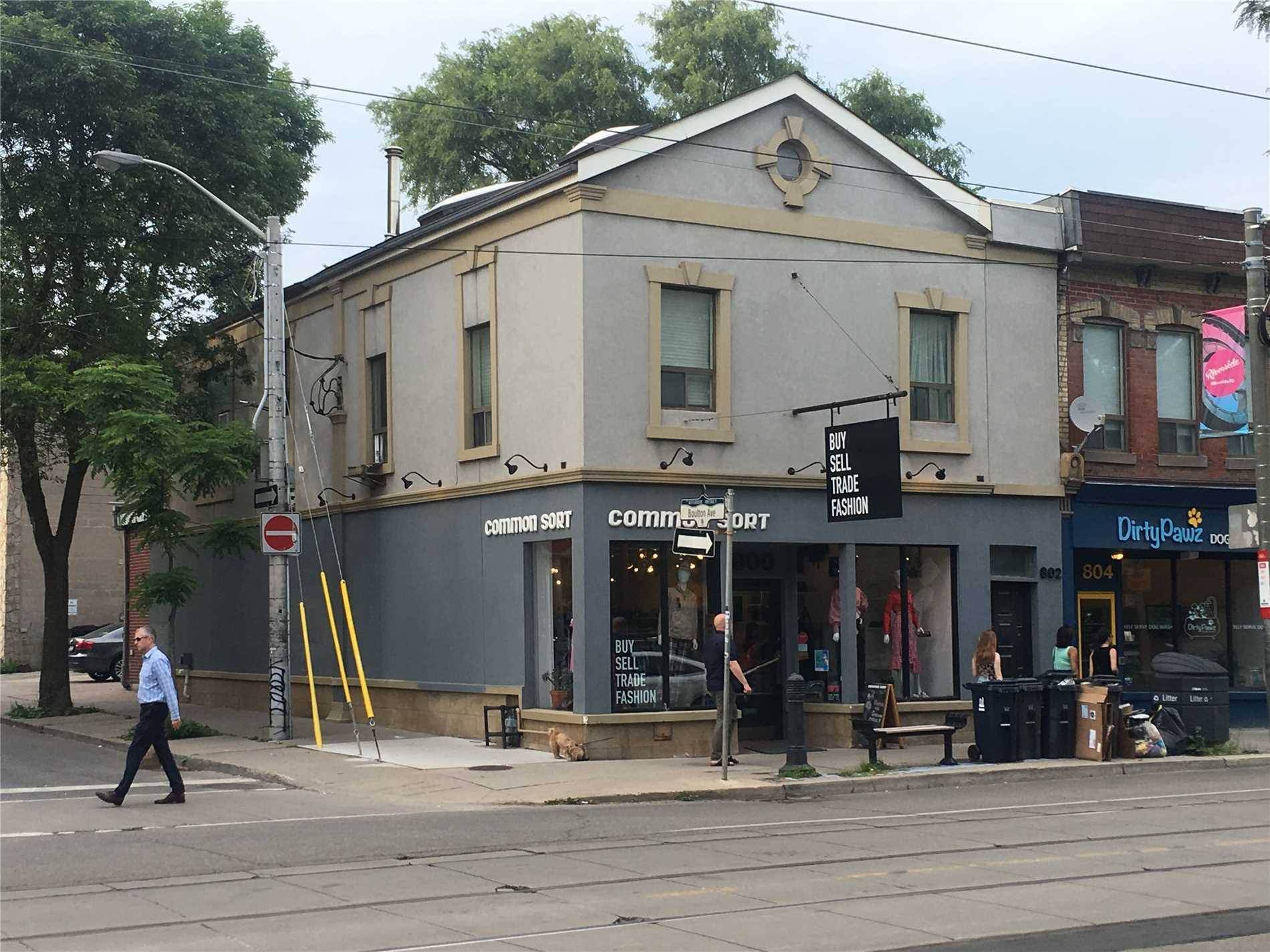 Fabulous Queen St East Corner Property In Prime Leslieville Available For Lease. Former Clothing Store, Suitable For Many Uses. 1,731 Square Feet - Main Floor. Full Basement Included In Rent. $50.00 Psf Net+ $21.00 Psf Tmi. Property Taxes And $500.00/Mo Building Insurance). Total Is Plus Hst And Utilities Direct To Suppliers. Possession - September 1st, 2019. 200 Amp Panel Service.
