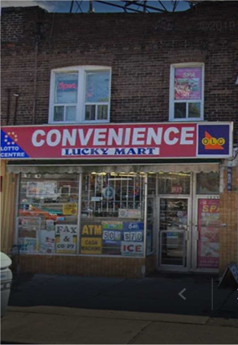 Well Established Convenience Store Located On Prime Intersection Woodbine & Denforth. Loyal Clients, Average Sale: $10,000/Week, Lotto Commission : $3,500/Mo, Atm: $320/M0, 40% Cigarette Sale, Hydro: $300/Mo, Store Open 8:30Am-10:30Pm 7 Days A Week. Great Potential To Increase Sale, Very Simple & Easy Operating Business, Good Opportunity For A Person Who Can Put The Hours In, Be Your Own Boss.