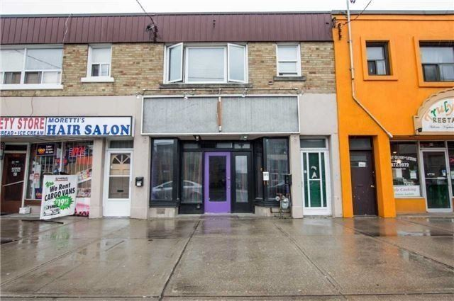Affordable And Flexible Investment Property. 3 Residential Units Are All Fully Tenanted And Paying Rent With A Vacant Commercial 1,100 Sq Ft Available, For Self Use Or To Lease. Located On Main Thoroughfare With Tons Of Traffic And Buses, Surrounded By A Great Mix Of Residential, Commercial, And Industrial. Connects East York To Scarborough And Minutes From Dvp. Building Is A Good Condition And Tons Of Redevelopment Going On All Around The Street.