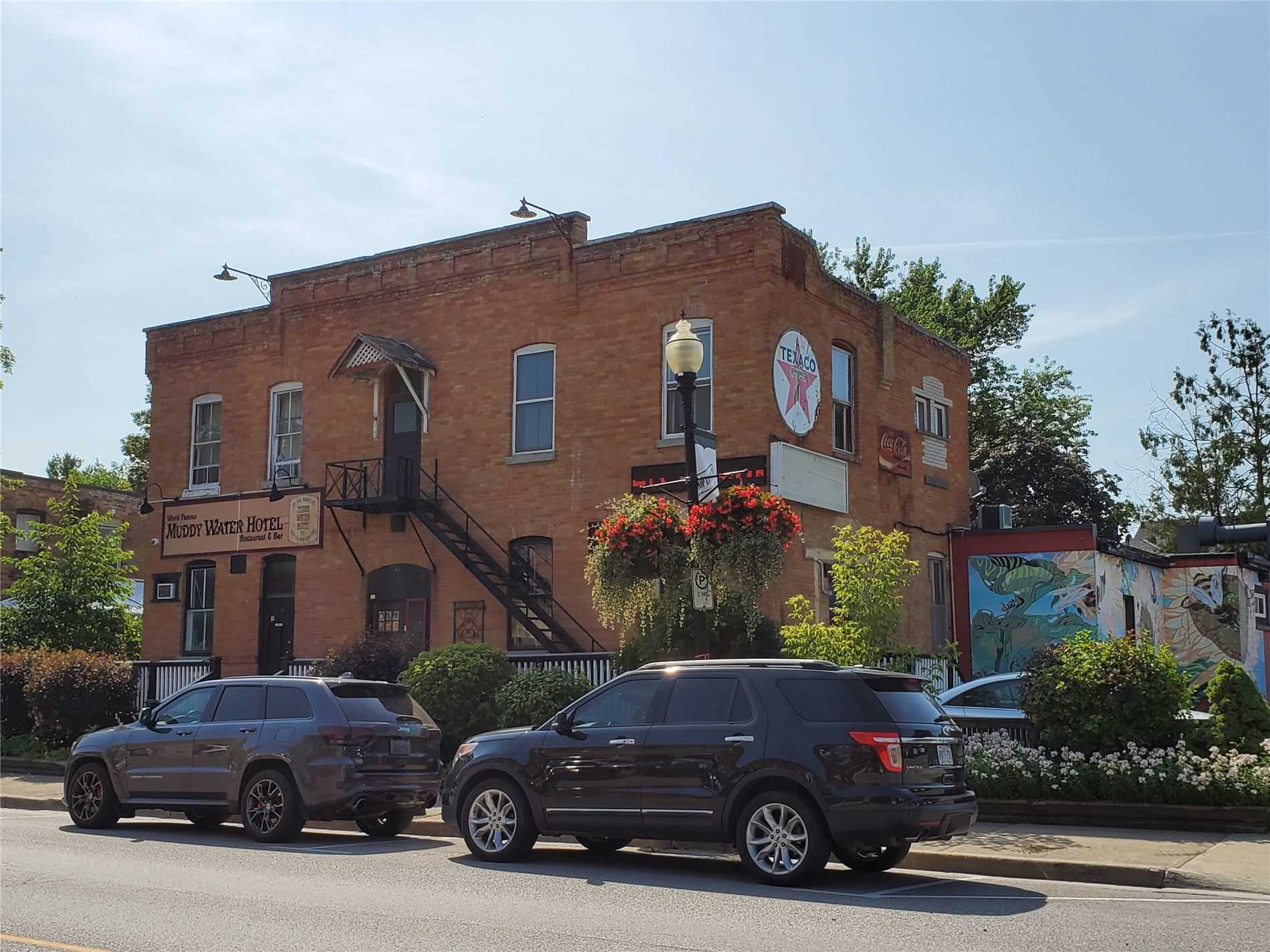 Business Only For Sale.Legendary Restaurant/Bar For Sale In Beeton! The Muddy Water Hotel Is In An Ever Growing Community! Lots Of Original Charm From This 100+ Yr Old Business. Room To Change To Suit Future Needs. 2 Patios-Front & Back.Front Porch To Watch The Downtown And  Back Patio With Trees ? For Shade And Privacy Pool Room,Huge Bar, Beer Fridge, Separate Dining Area With Booths, Full Kitchen With Walk In Fridge.Will Negotiate New Lease With Purchaser.