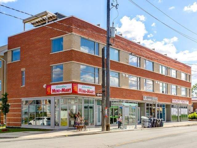 Corner Unit, Very Bright And Great Exposure For Your Business, Ready For Your Personal Touch! Spacious Unit 481 Square Feet On Main Level Plus 553 Square Foot Finished Basement. Great Location With High Walk And Traffic Area. Centrally Located In The Keelesdale Neighbourhood. Close To Highway 400, Ttc At Your Doorstep.