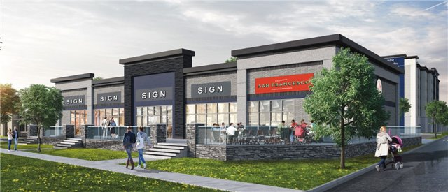 Prime New Retail Development, With Drive-Thru Pad Available (3,000 Sf), Fronting Onto Appleby Line. This Pad Has Multiple Size Units Available From: 1,250 Sf To 6,000 Sf. New Hilton Hotel To Be Built On Site And Next To Appleby Ice Centre. Site Is Approved And Ready To Be Built. Open Your Doors Within 12 Months. Mxe Zoning. Fantastic Traffic Counts Daily, And Household Income Within 3 Km To Location. Easy Access To Qew.