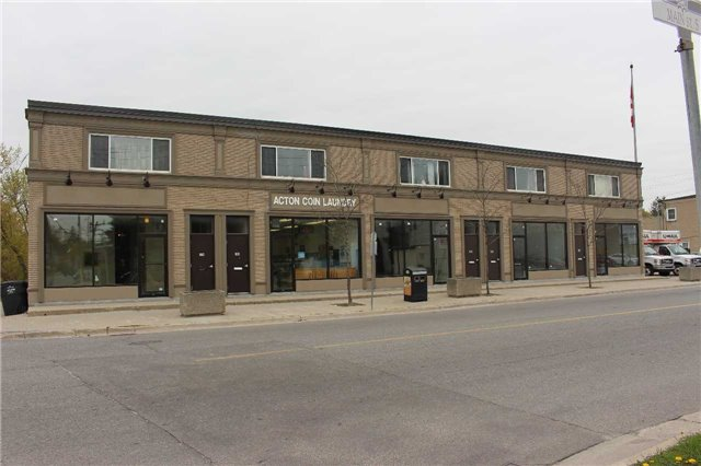 Amazing Opportunity To Start Your Own Business In A Great Location In Downtown Acton. Just Off Main Intersection Of Main Street And Hwy 7. Thousands Spent On Exterior & Interior Upgrades, Energy Efficient Windows & Exterior Lights. 1000 Sq Ft Main Level Set Up For Turn Key Office With Waiting Area & 3 Offices & Half Bath With Fully Finished Basement, Additional Half Bath, Kitchenette, And Open Area.