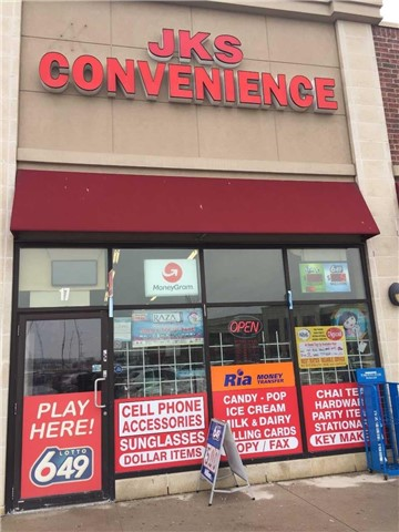 Location Is Already Set Up To Accomodate Phone Accessories, Laptop-Related Sales, Or Other Opportunities In The Technical Field. Ideal Location For Pan Shop Or Watch Repair, One Of The New High End Fully Occupied Plaza In Castlemore Area. Wont Last Long. Access From Airport Rd And Cottrelle Blvd. Rare Find For This Kind Of Opportunity. Lots Of Parking.