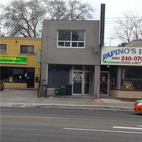 Very Nice Store Front Retail/Commercial Space!!! Approx. 1000 Sq Ft. Plus Basement. Many Uses Possible!! Great Main Road Exposure!! Tenant Pays Gas,Hydro.