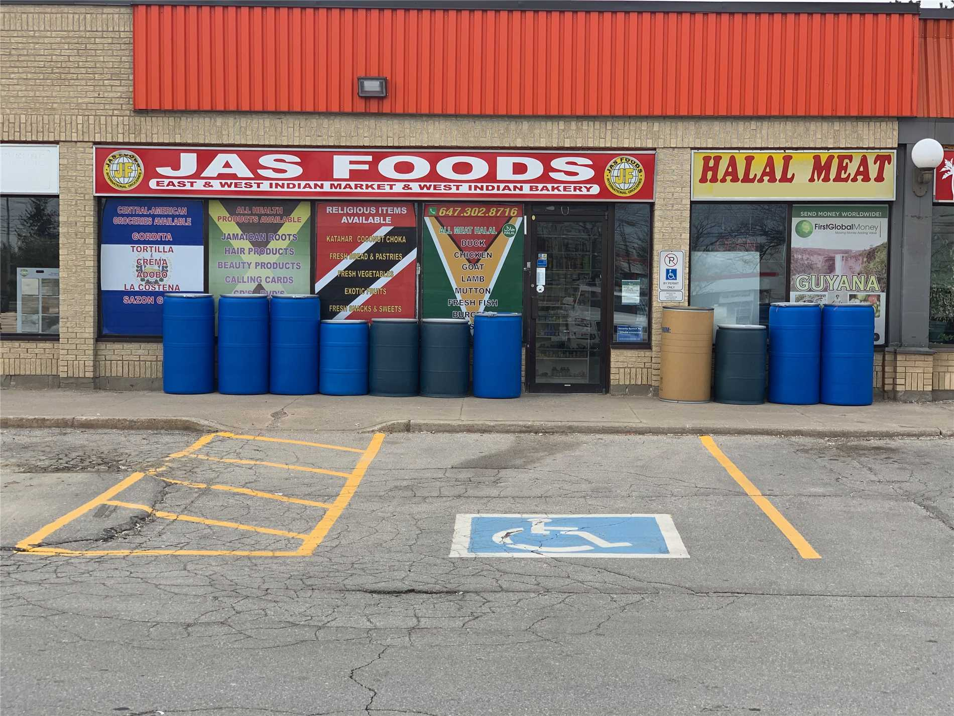 Very Busy West-Indian Grocery + Halal Meat Shop For Sale, Over 9 Years In Business, Excellent Location Next To Chrysler Plant, Super Busy Plaza, Make Money With No Stress, Dedicated Customer Base & No Need To Spend On Advertisement. Approx $21,000 Weekly Sale & $3390/Mth Rent Including Tmi.