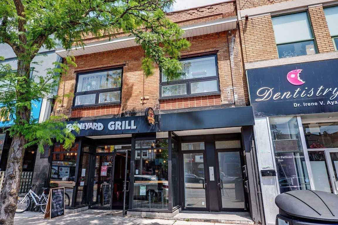 Stunning And Conveniently Located Lower Level Professional Office In The Heart Of St Clair West. Three Very Bright Private Offices And Shared Boardroom Space. Wall Openings & Doors With Frosted Glass. Bustling Location, High Pedestrian And Vehicle Traffic.  95 Walk Score. Signage Opportunity. Ttc At Doorstep.