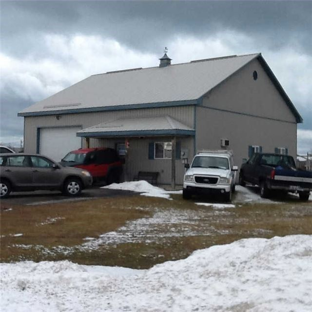 "Excellent Location!  1600 Sq Ft (40' X 40"" Outside Dimensions) Building With Automotive Bay In Port Elgin Industrial Park. Building Is Steel Clad With A Steel Roof As Well. Economical Radiant In Floor Heating. Shop Space 10' High X 12' Wide Roll Up Door Measures 16-1/2 Feet X 38-1/2 Feet. Balance Of The Building Is Set Up With Office, Washroom And  Storage Space."
