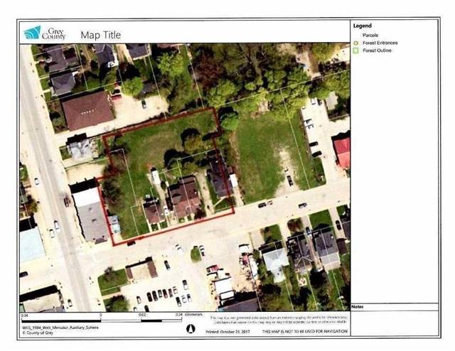 "Fantastic Downtown Meaford Development Property Close To Waterfront. Property Is Comprised Of 5 Separate Lots. 12, 18, 22 ,24, 28 Collingwood St E With A Total Of 204 Ft Of Frontage By 165 Ft Depth Irregular As Per Mpac. Old Partial Survey Attached. Buyers To Satisfy Themselves With Regards To Zoning And Development Potential. Buyers To Accept Property And Structures In ""As In"" Condition. No Interior Showings. Please Book Appt To Walk The Property W/Caution."