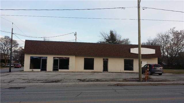 Two Units Free Standing Bldg On High Traffic Location In Owen Sound, Fast Developing Area, Excellent Exposure, Ample Parking, Corner Lot, Many Uses With C2-3 Zoning, Easy Access, Great Investment Opportunity