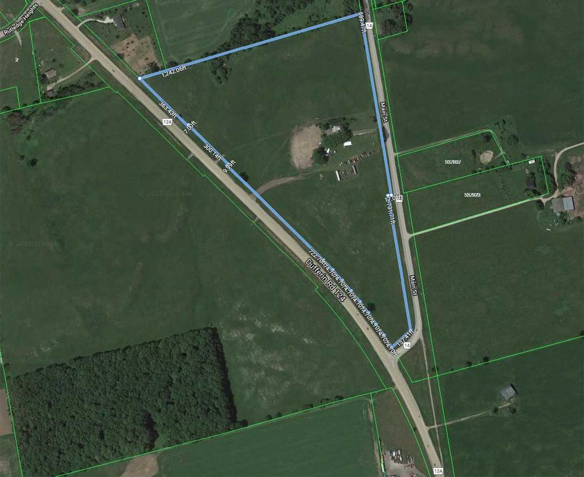 26.125 Acre Property With Rare Industrial Zoning. Many Potential Uses, 2 Road Frontages Close To Shelburne & The Village Of Horning's Mills. Ideal Location For Your Business Or Potential For Live/Work Farm. Century Home Has 3 Bed 2 Bath. 23 Workable Acres With Agricultural Crops, Land Currently Leased To Tenant Farmer. Environmental Conservation Area Is Approx. 8 Acres On The North End Of The Property.