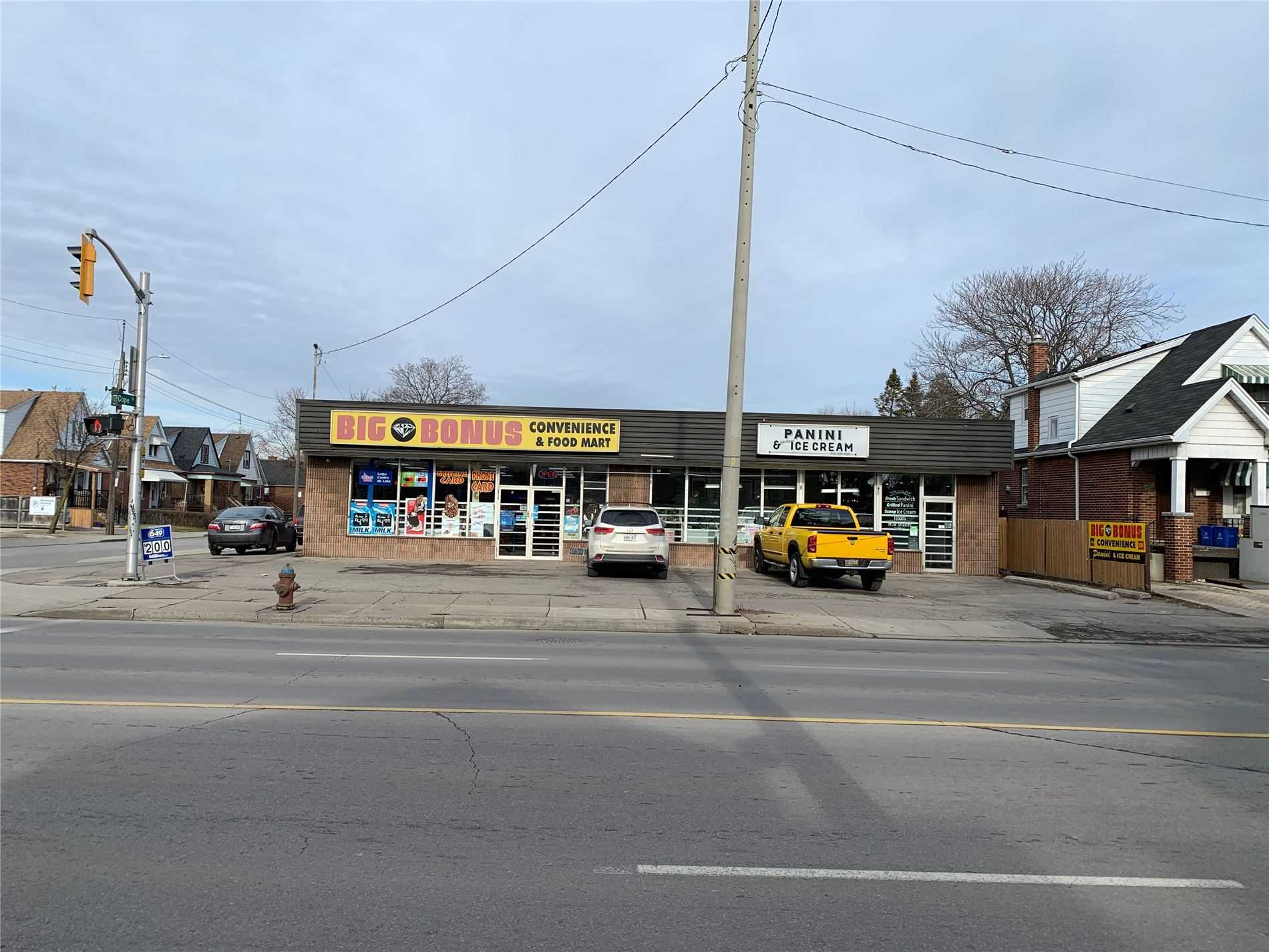 Two Money Making Businesses With Property For Sale. Convenience Store And Ice Cream, Both Carrying Higher Profit Margins. Corner Lot, Free Standing Property Located On High Traffic Street, Ample Parking. Yearly Average Revenue Approx $650,000(Cigarette Only 25%), Lottery/Atm/Other Income $22000/Yr. Utilities $600/Mth, Still Potential Of Business Growth For Right Operator. Limited Business Hours 8.30-10.30. No Franchise Fee Or Royalty.