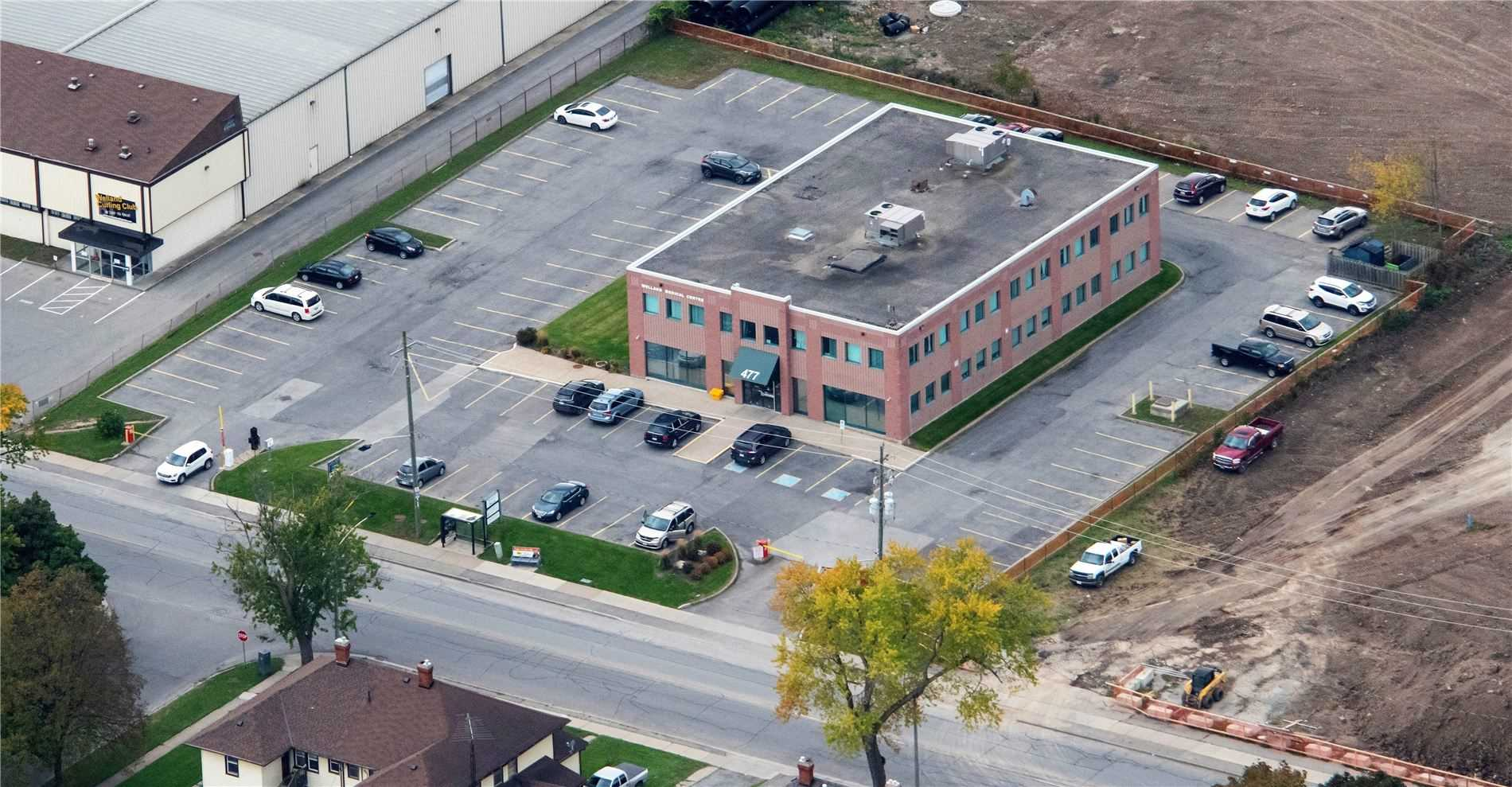 Welland Medical Centre Is Situated In A Populated Residential Neighborhood On King St. And Lincoln St. The Building Is Minutes Away From Niagara Health Welland And Adjacent To A Future Retirement Home And Retail Plaza. Welland Medical Centre Is A Two Storey Building That Features A Surface Parking For Patients And Tenants.