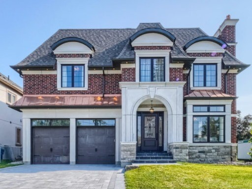 "Stunning & Magnificent Masterpiece-Custom Built New Luxury Home-60 Ft Pie Lot W/78 Ft.Rear;Stately Family Home W/Lge Principal Rms-Stunning Curb Appeal;Entertainer's Delight;Brick&Stone&Copper Facade;Elegant Mahogany Frt.Dr;Marble Flrs,Rich 5.5"" Dark Hrdwd;Grand Hall W/Skylite;Soaring Ceilings-10Ft.Main Flr,9Ft.2nd;Stunning Gourmet Kitchen & Servery,Granite Counters,Pot Drawers,Hi End Thermador Appl;Inside Tour On Youtube;See Attachment For More Details"