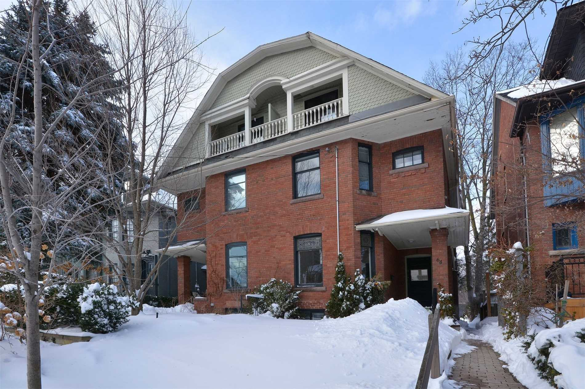 1st Time Offered In 48 Years!! Wide 3-Sty.Semi On A 25 X 150 Ft. Deep Lot. Authentic Traditional Charm, There Are Currently 3 Units W/ Approx.2795 Sq.Ft.+ 1082 Sq.Ft. In Basement.10' Ceilings On Main Floor. Lane Parking For Up To 3 Cars. Great Opportunity To Buy In This Sought-After Location. Leave As A Rental Or Renovate Into Your Dream Home. Main Floor Unit Owner Occupied/2nd Flr Unit $1199.56/Mo-To-Mo/3rd Flr Unit $1107/Mo-To-Mo