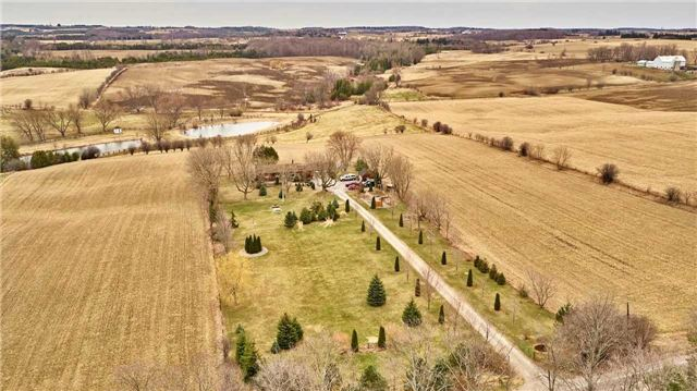 Very Well Maintained 2 Acre Country Property With A Large Brick Bungalow! Shingles-'14! All Windows-6 Yrs. Old! Newer Garage Doors & Oil Tank! Newer Chimney Liners- Furnace & Fireplace! Over Sized Garage! Workshop-16'X 12'! Garden Shed-10'X 8'! 2 Tiered Back Deck-16'X 16'! R/I 'A' Vent For Stove In Rec. Rm.! Cedar Front Deck-38'X 16'! 2 Minutes To Hwy. 407! Spectacular Views! Was 3 Br. Converted To 2 Br.! Water Tested-0-Coliforms, 0-Ecoli-July,5th./18!