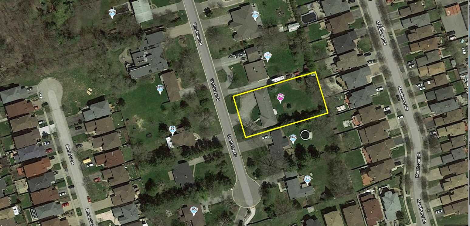 Property Is Zoned ***  Medium Density *** In Pickering's Official Plan *** Land Value Only *** Great Opportunity For Developer/Builder. Must Be Purchased With Adjoining Properties