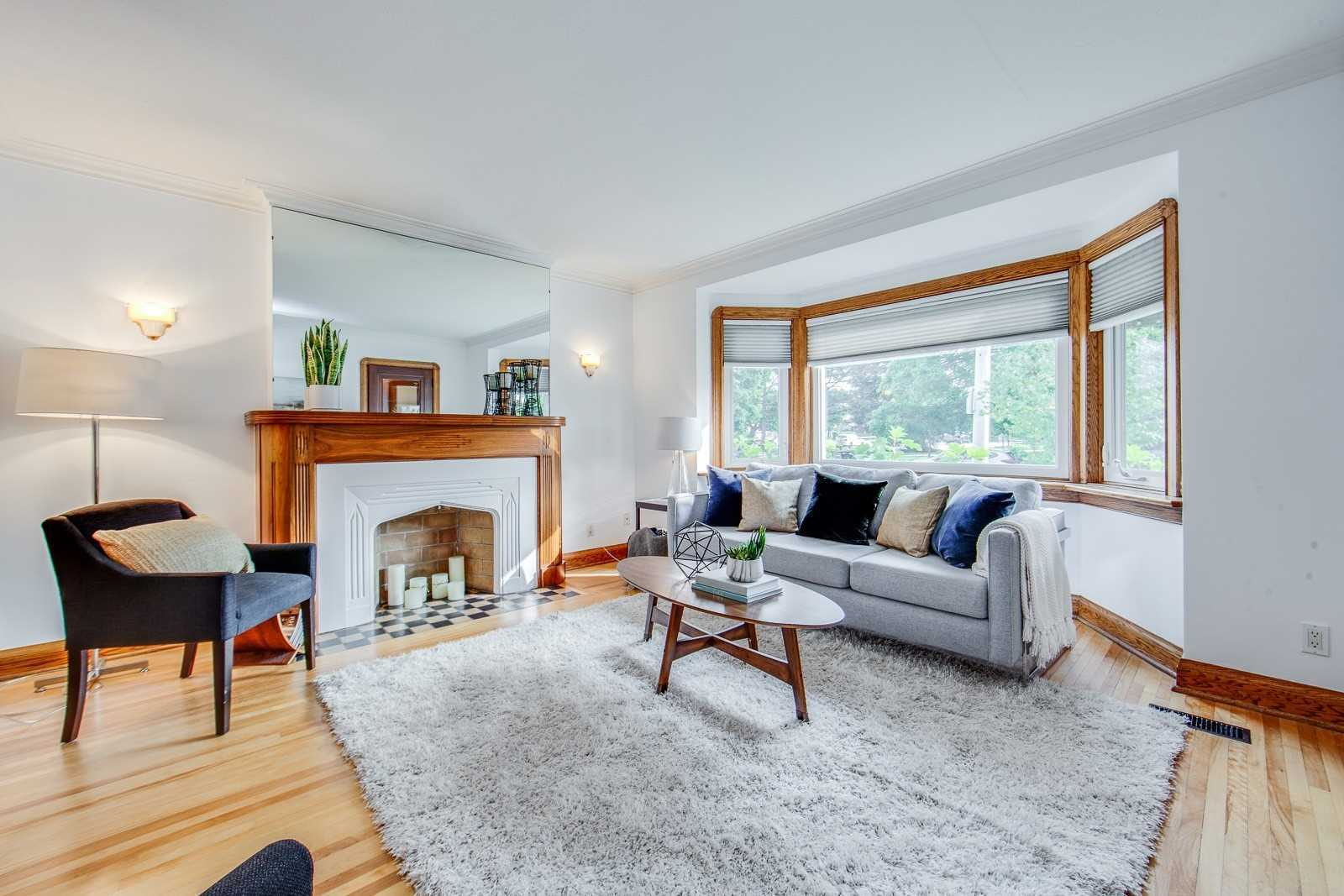 Upgraded & Immaculate East York Bungalow W/Great Main Flr Flow On A Lovely Wide Lot W/Private Drive&Attached Garage.Super-Spacious Liv Rm W/Fireplace,Hardwood&Cozy Bay Window,Family-Size Sep.Din. Rm&Generous Bdrms.A Bsmt Rec. Rm Perfect For Game/Movie Nights,Extra Bdrm&A Ton Of Storage.Ready To Move Into Or Perfect For Those Wishing To Build/Expand(Reno Plans Avail). Steps To Transit,Library,Hospital,Daycare,Farmer's Market Across,Dieppe Park&Shops On Coxwell