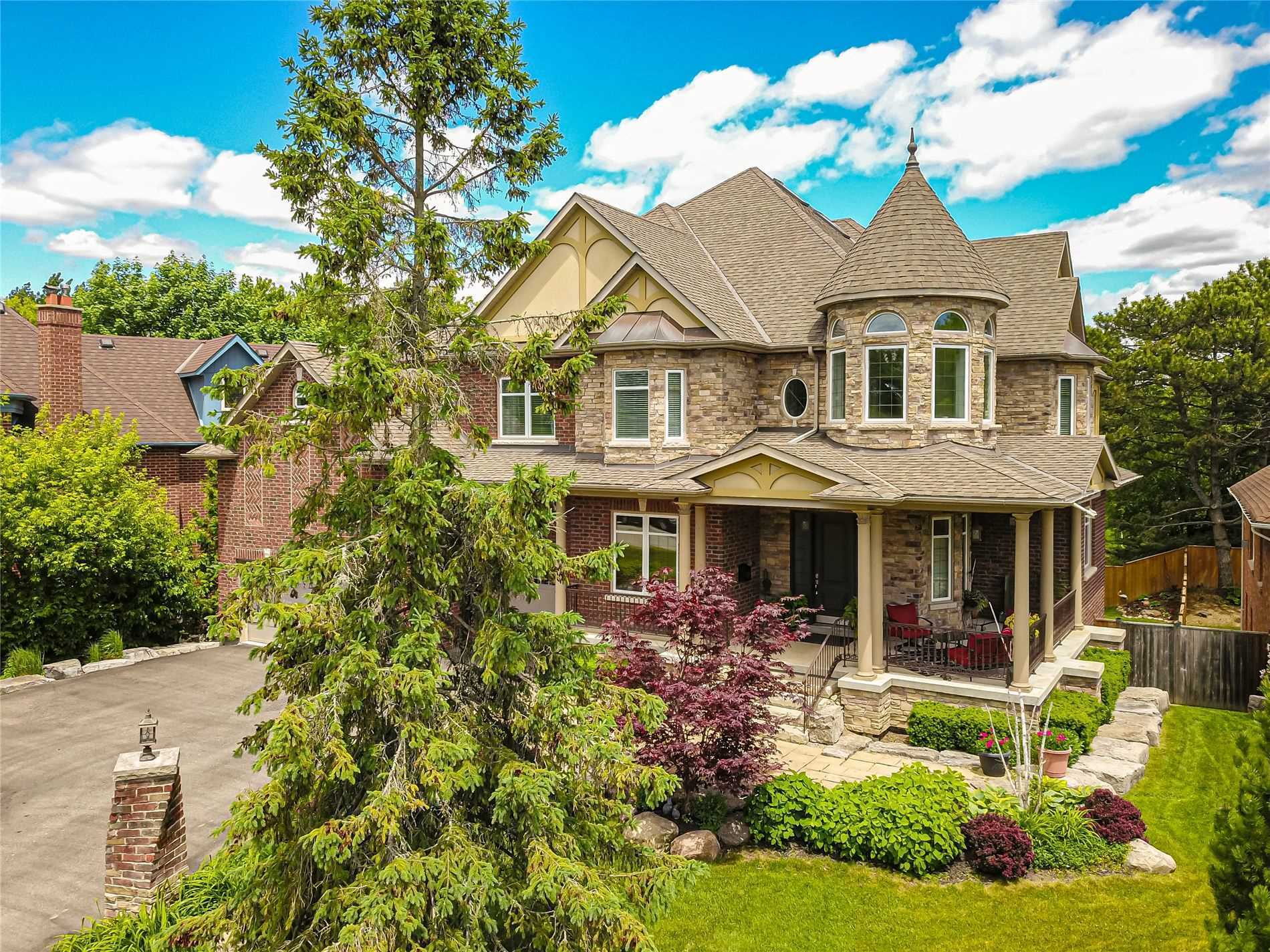 Luxury One Of Kind Custom Home ,Nestled In Prestigious South Rougemount On A 1/4 Acre Lot.8000 Sqft Of Meticulously Crafted Living Space.Multi Generational Home.Open Concept Chefs Kitchen & Great Room W/Soaring Ceilings.5 Brm W/Ensuite&Closets With B/I's .4 Season Muskoka Rm.Panic Rm.Large Heated 3 Bay Garage W Room To Install Car Lifts.Lower Walk Out To Yard Heated Stone Floors(Slate,Marble,Granite)Through Out.Large Wine Cellar.Full 2nd Kitchen Bsmtm.