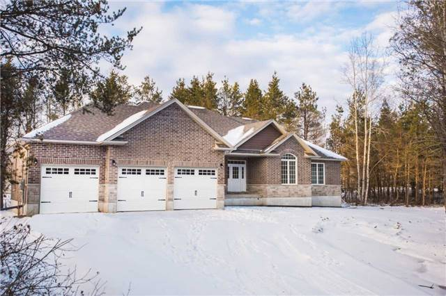 This Beautiful Custom Built Home Is Sitting On A Beautiful Treed Lot In The Twp Of Essa. If Peace And Quiet And Privacy Is What You Like This May Be The Perfect Place For Your Family. Hardwood Floors Throughout, Ceramic Floors In Kitchen And Bathrooms, Custom Cabinetry, Quartz Counter Ops In Kitchen And Bathroom,  Pot Lights, Large Windows Walkout From Kitchen,  Hardwood Stairs To Basement, Stone Skirt On Exterior