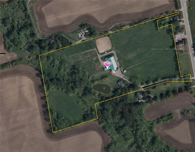 Location Location!! Excellent Future Potential In A High Demand Area, Only Minutes To Markham.  This Quiet Horse Farm Is Located On 24.34 Acres With 21 Stalls, Heated Indoor Wash Stall, Viewing Room And Tack Room.  Large Indoor Arena And Lots Of Paddocks.Huge House Overlooking Pond With Attached Apartment.  Great For The Horse Enthusiast Or Land Investor.  Do Not Miss Out!