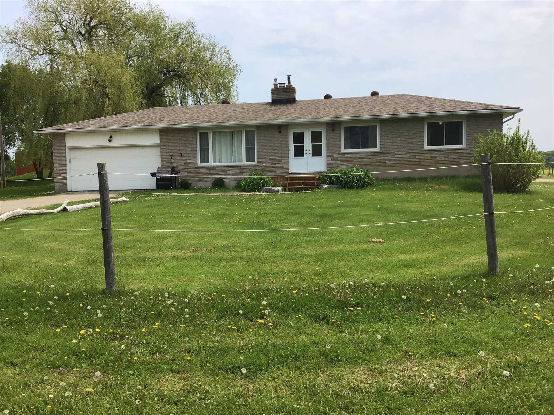 Fantastic Opportunity To Move In To This Peaceful Country Bungalow Home.  3 + 1 Bedroom, 2 Bathroom, Newly Renovated Upper Level. Large Master Bedroom And Ample Storage.   Home Is Located On 10 Acres Of Land.