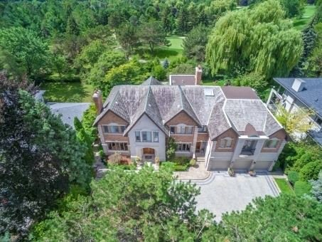 Great Mansion Surrounded By Bayview Golf Course (Top 100 In Canada) W/Timeless Design & Finest Finishes On Premium 100X150 Ft Lot. 9,520 Sqf Living/Entertainment Space Lit Thoroughly By Enormous Windows/Skylight. Solid Hardwood & Marble Floor/Crown Moulding/Pot Lights Throughout, 18' Living Rm, Chef's Kitchen, All Bdrms With Ensuite, W/O Bsmt W/Theatre/Karaoke/Wet Bar/Wine Cellar/Sauna. Private Backyard With Direct Access To Golf. Mins To Hwy 401/404/407.