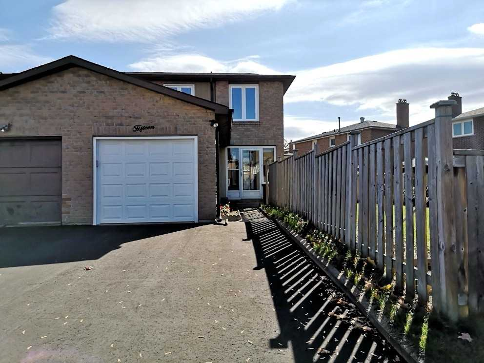 Main Floor & 2nd Loor & Only Laundry/Washroom In Basement For Lease! Well Maintenance 3-Bedroom Semi With Attractive Huge Side Yard. Bright & Spacious Layout. Quiet Neighbourhood. Close To Catholic School, French Immersion Schools, Daycare, Ttc, 404, And Shopping Mall Etc. Ready To Move In!