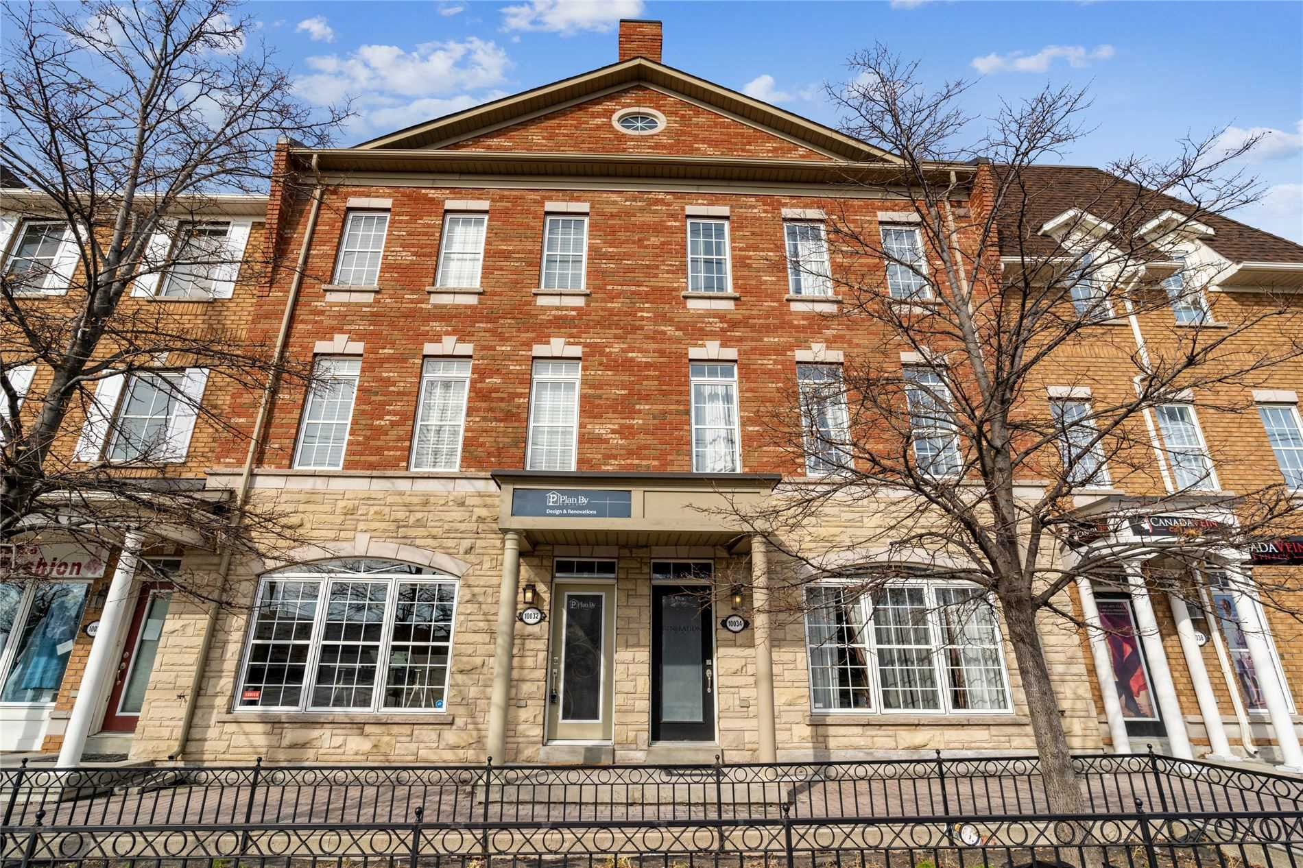 Beautiful & Ultra Spacious 3 Bdrm Townhouse W/Street Front Office/Retail!! Amazing Live/Work Opportunity, Over 2,000 S/F, Open Concept Main Flr, Kitchen W/Centre Island, Granite Counters & Stainless Steel Appliances, Huge Family Room, Large Master Bdrm W/Ensuite, 2-Car Garage, Private 20' X 20' Terrace & Much More! Steps To Go & Close To Shopping & Amenities!!!
