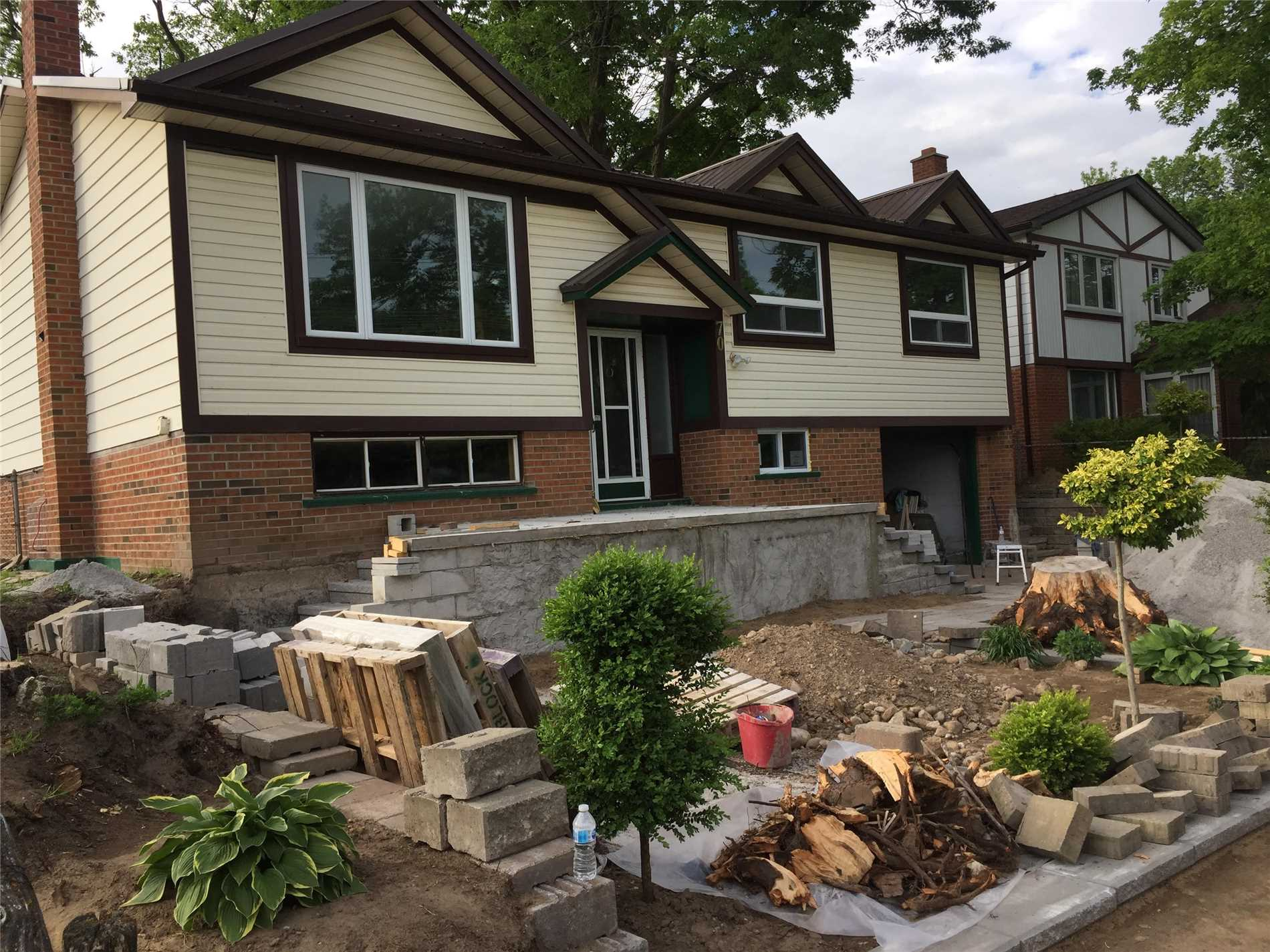 Property Is Currently Undergoing A Complete Renovation And Will Be Ready For Occupancy August 1, 2019. Large In Town Lot Sits This Completely Renovated Raised Bungalow Only Steps From Barrie's Golden Mile, University, Hospitals And Hwy 400. Large Spacious 3 Bedroom With Walkout To Beautiful Deck And Back Yard. The Lower Level Consists Of A 1 Bedroom In Law Suite With Its Own Separate Entrance. Property Comes With All New Appliances, New Floors, New Panel Box,