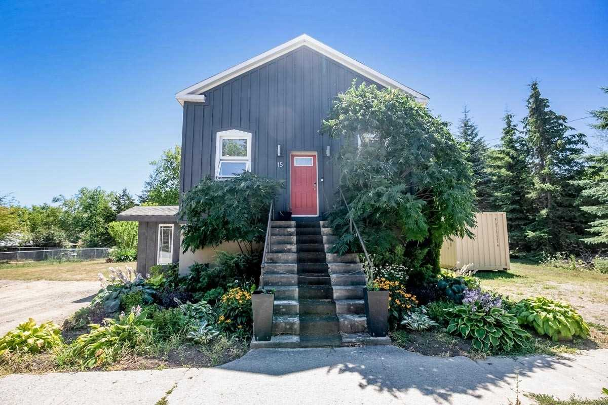 Wrap Yourself In The History Of Creemore With This Spacious Converted Hall. Offer Over 3100 Sqft And Set On A Double Wide Lot This Home Is Conveniently Located Only A Short Walk From Creemore's Main Street. Inside Offers An Updated Kitchen With Professional Grade Appliances Which Flows Into The Main Floor Living Space With Soaring Ceilings. The Open Concept Great Room Offers Old World Charm With A Unique Opportunity To Transform The Living Space By Completing