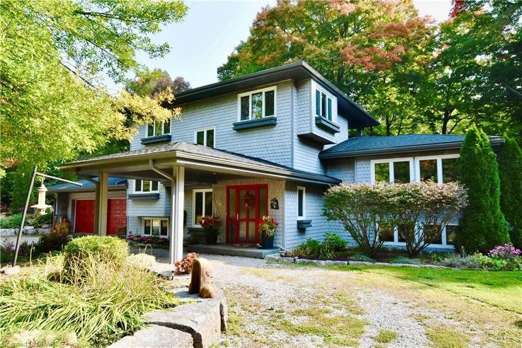 Custom Home On Private 1.8 Acre, Ecologically Friendly & Nature Based Sanctuary, Steps To Carthew Bay. Features Incl A 1200Sqft Pond,? 53' Labyrinth, Maple Floors, O/C Kitchen, Stunning Views From Every Rm, 4 F/P, Heated Garage, Irrigation, 2 Wells, F/F W Gated Entry, Alarm Sys, 3 Of The 5 Beds Have Ensuites & There Are 2 L/L Entrances Which Lends To Many Potential Uses, Surrounded By? Stunning Landscaping In A Wooded Setting&? Much More!!! A Must See!!!