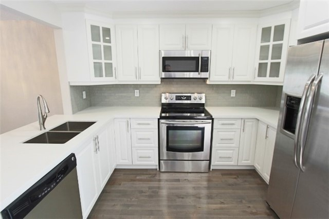Renovated Throughout! New Hardwd Flrs! Custom Kitchen W/ Eye Catching Backsplash, Quartz Counters & Stainless Steel Appl! 4 Renovated Washrms! Large Bedrooms! Master W/ Ensuite Bath! Private Fenced-In Backyard! Come See This Great Home Before It Is Too Late! **6 Month Lease Avail**