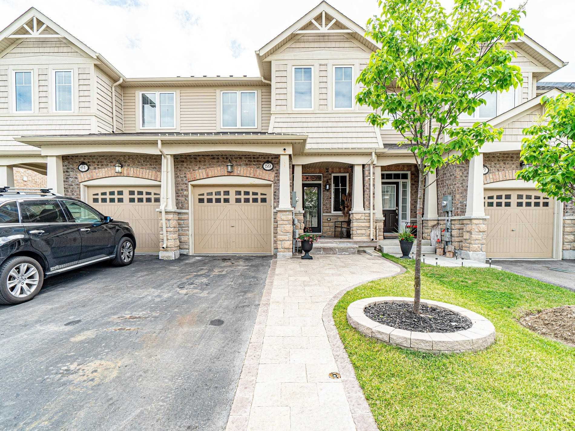 Immaculate Upgraded & Absolutely Gorgeous 3 Bedroom Freehold Townhouse In The Most Sought After Southfield Community Of Rural Caledon.  Hardwood Floors On The Main Floor, Surround Sound Speakers, Oak Staircase, Brand New Light Fixtures, Custom Made Fabric Blinds, Upgraded Kitchen With High-End Black Stainless Steel Appliances, Double Deeper Sink, Maple Cabinets, Quartz Counter-Top, Upgraded Chinguacousy Tub In Master Bedroom, Laundry On Upper Floor....