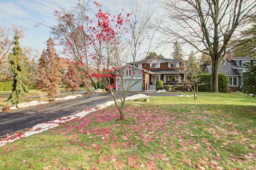 Nestled In The Luxurious Lorne Park Neighbourhood Of South Mississauga, You Will Discover One Of The Area's Best Hidden Gems. Custom Built, This Updated 4000Sqft+ 5Br, 4 Bath Family Home Is Situated On A Sprawling Mature Treed Property. Opening To 114Ft X 319Ft, Very Few Lots Offer The Scale & Character Of This Private Oasis. Open Concept Design W/Elegant Architectural Features, Exposed Brick, Fully Finished Basement W/Seperate Entrance, Inground Pool + More!