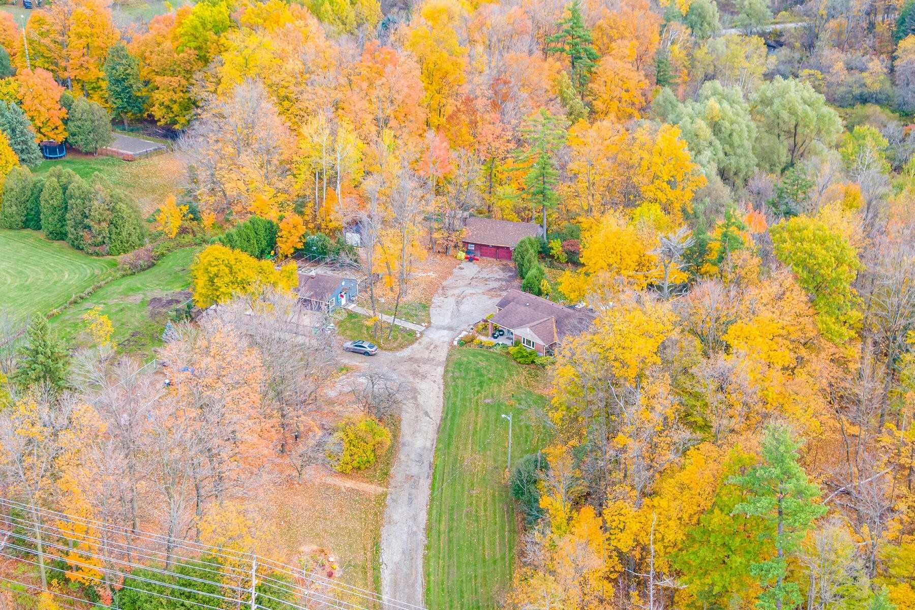 Prime Real Estate On 5.93 Acres W/Fabulous Sidesplit!Ideal Investment Close To Milton, Georgetown & 401. An Opportunity To Work & Play From Your Own Private Oasis. Established 16 Stall Kennel W/$100K Reno In '18. Many Outbuildings Including Updated Kennel,Huge Shed & Large Garage W/Versatile Uses.Spacious Open Concept Living Space W/Separate Four-Season Sunroom & Incredible Country Views! Massive Renovated Gourmet Kitchen Perfect For Large Family Gatherings.